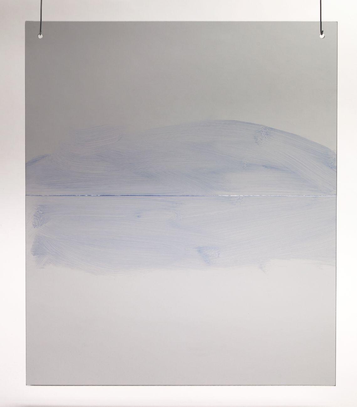 1, 40x50cm, maľba na skle, 2018