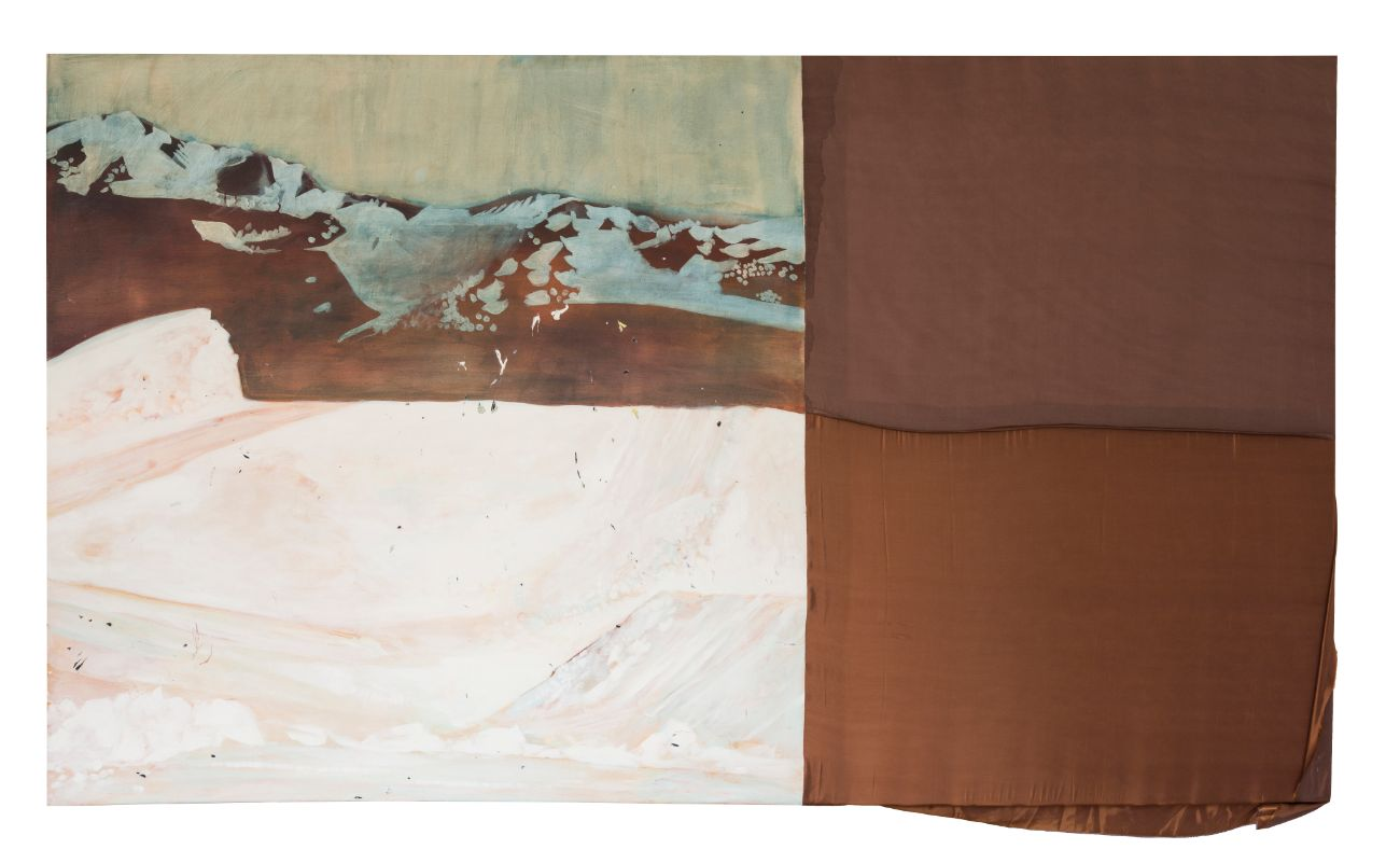 200 x 115 cm, kombinovaná technika, 2017