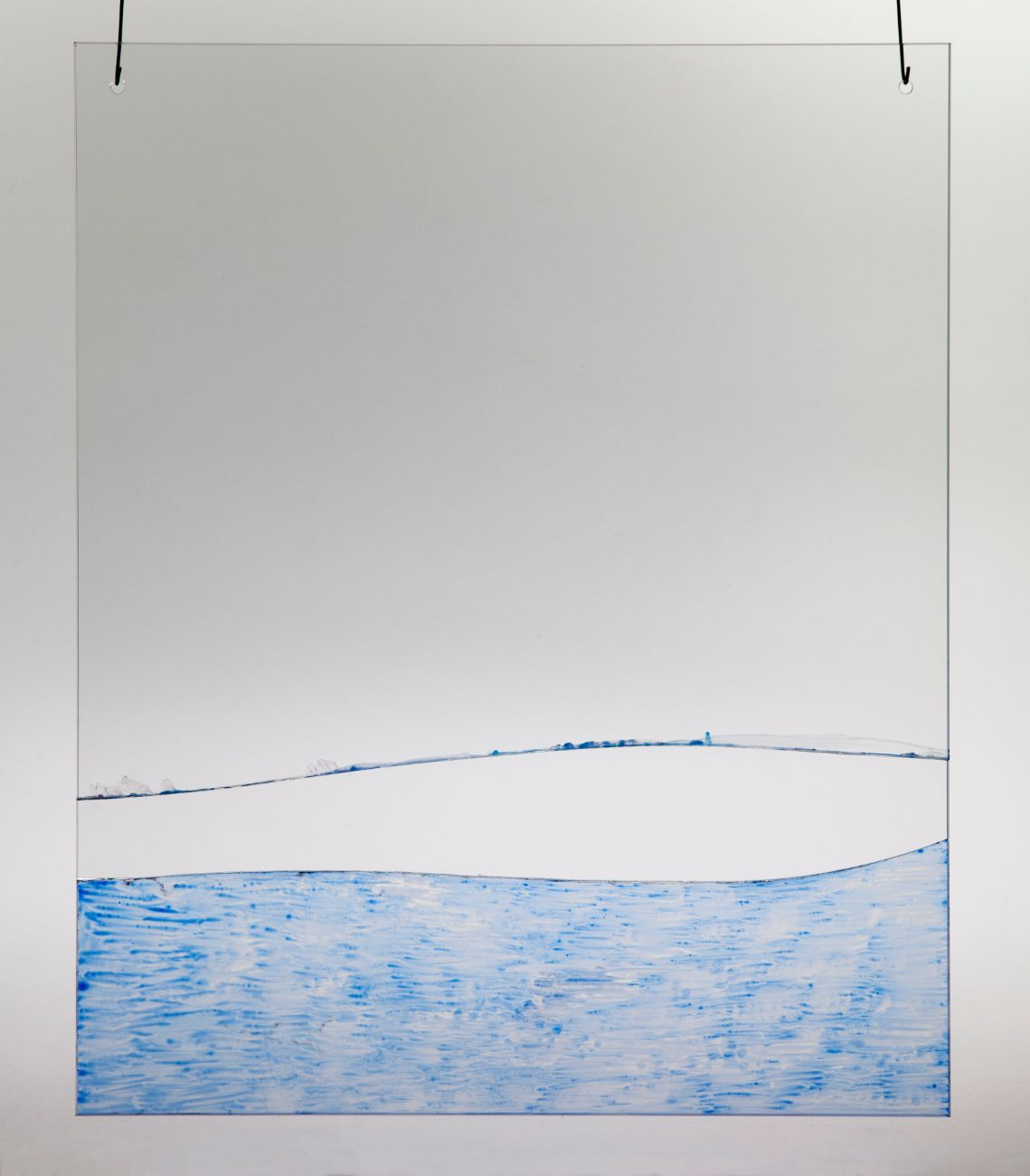 3, 40x50cm, maľba na skle, 2018