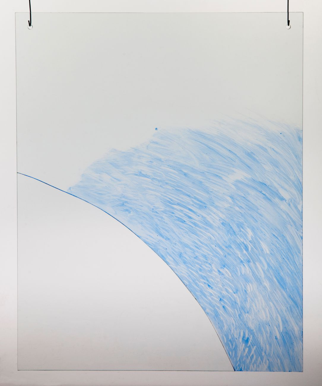 4, 40x50cm, maľba na skle, 2018
