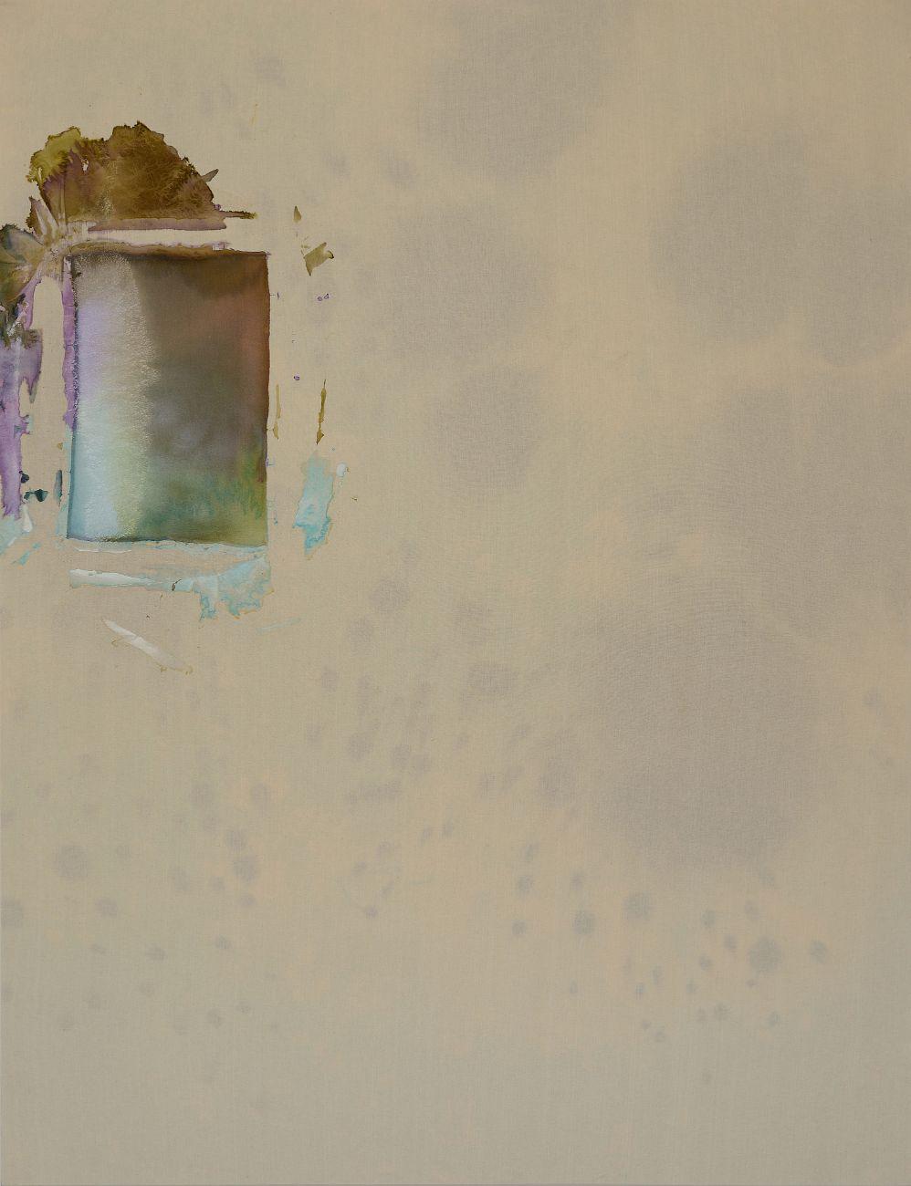 Ice coat, 145x190cm, mixed media on canvas, 2016