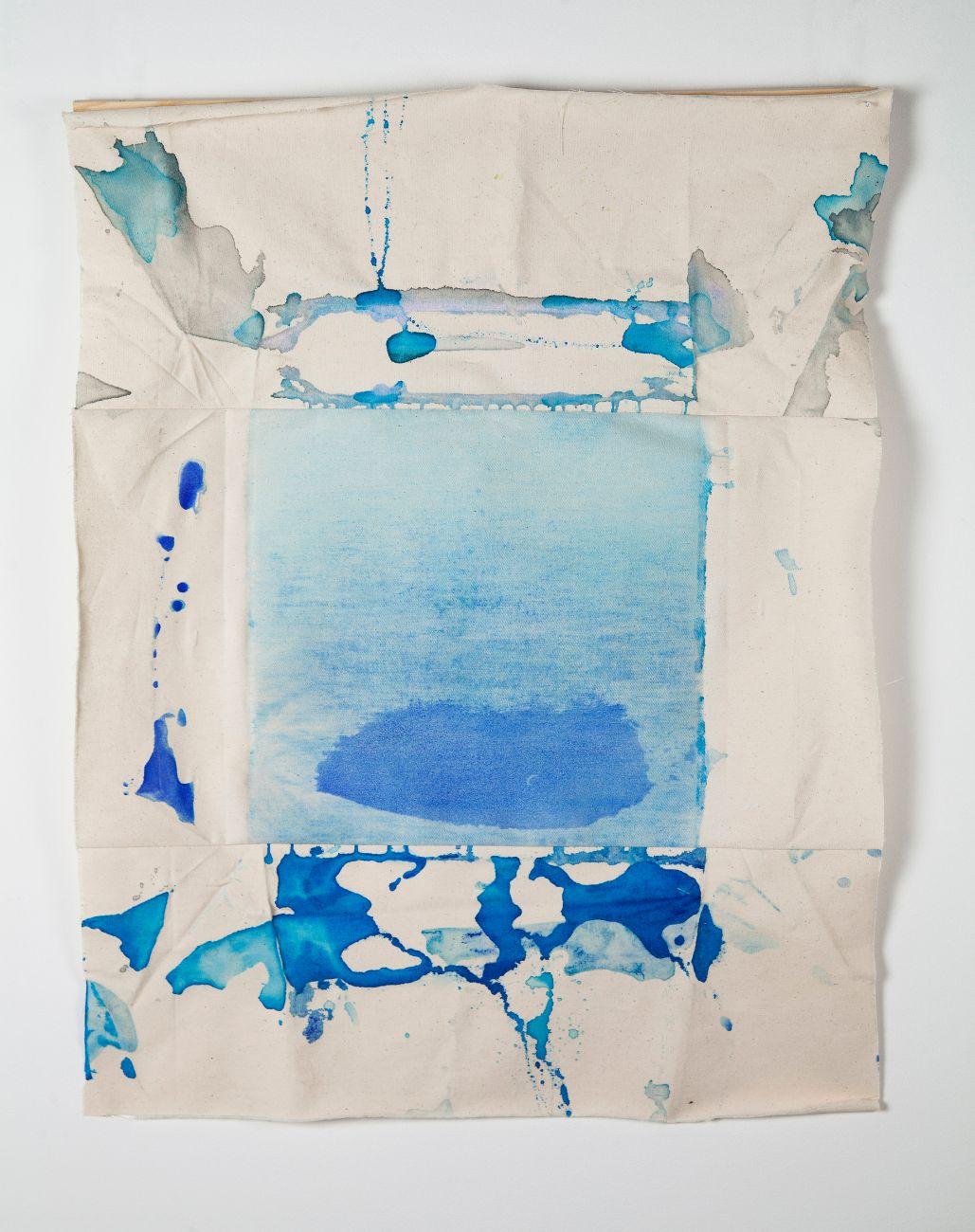 zo série Ostrovy, 67x53cm, akryl na plátne