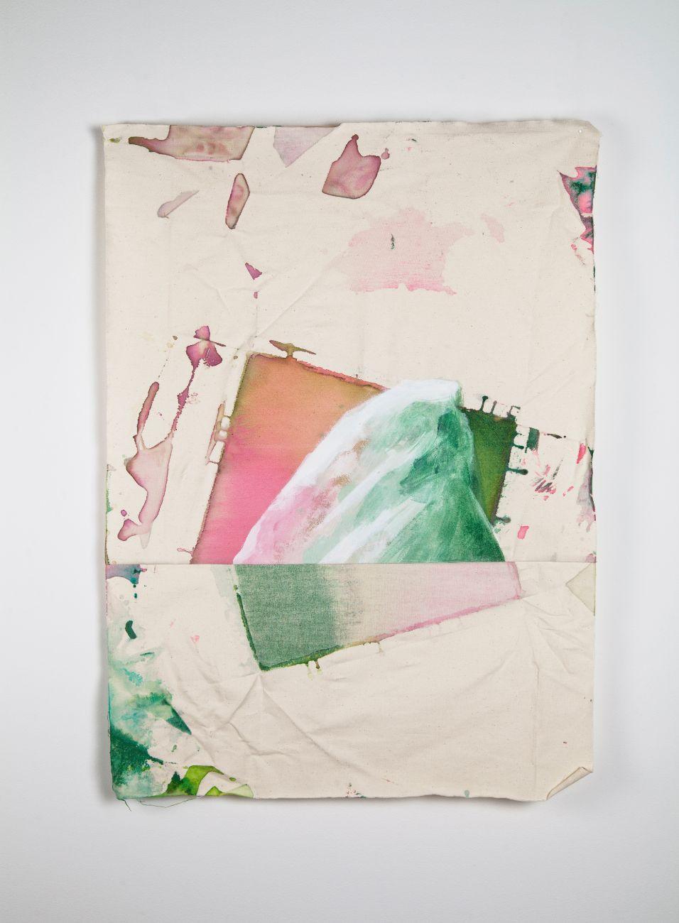 zo série Ostrovy, 72x52cm, akryl na plátne