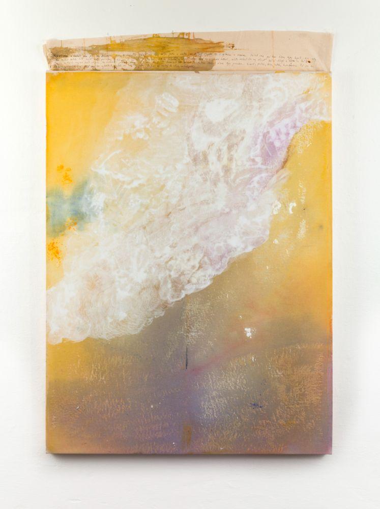 Neznama lavina, 120x90cm, acrylics and pen on canvas, 2021