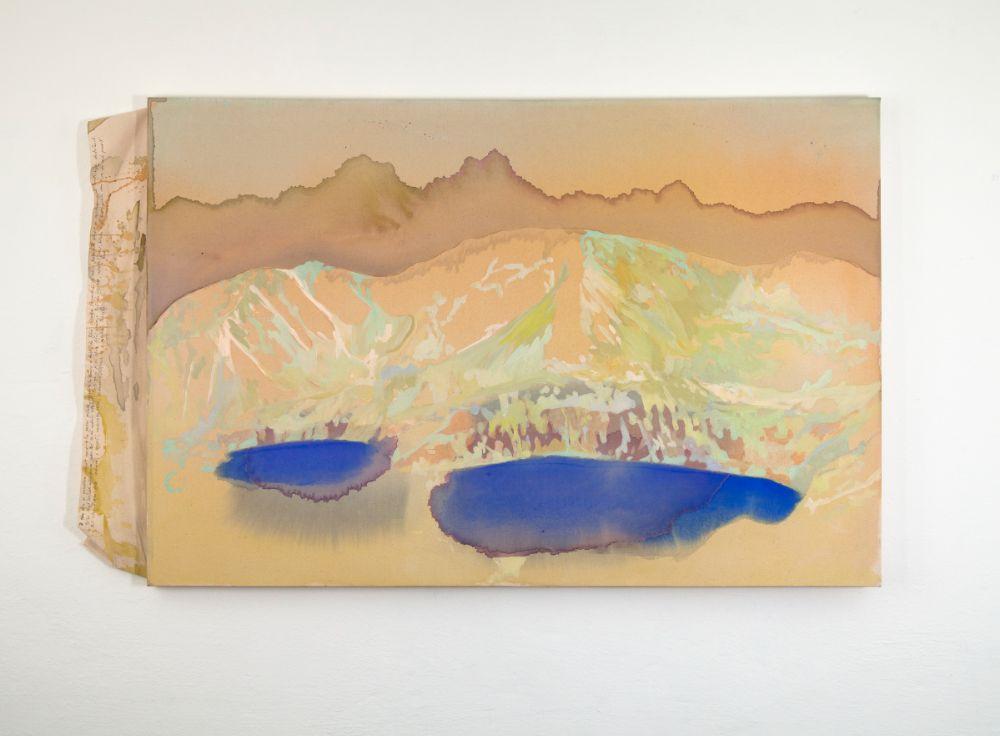 Orlia prť, 90x136cm, acrylics and pen on canvas, 2021