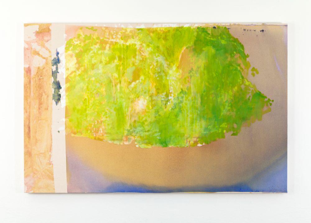 Zabudnuté miesto(Madeira), 90x140cm, acrylics on canvas, 2021