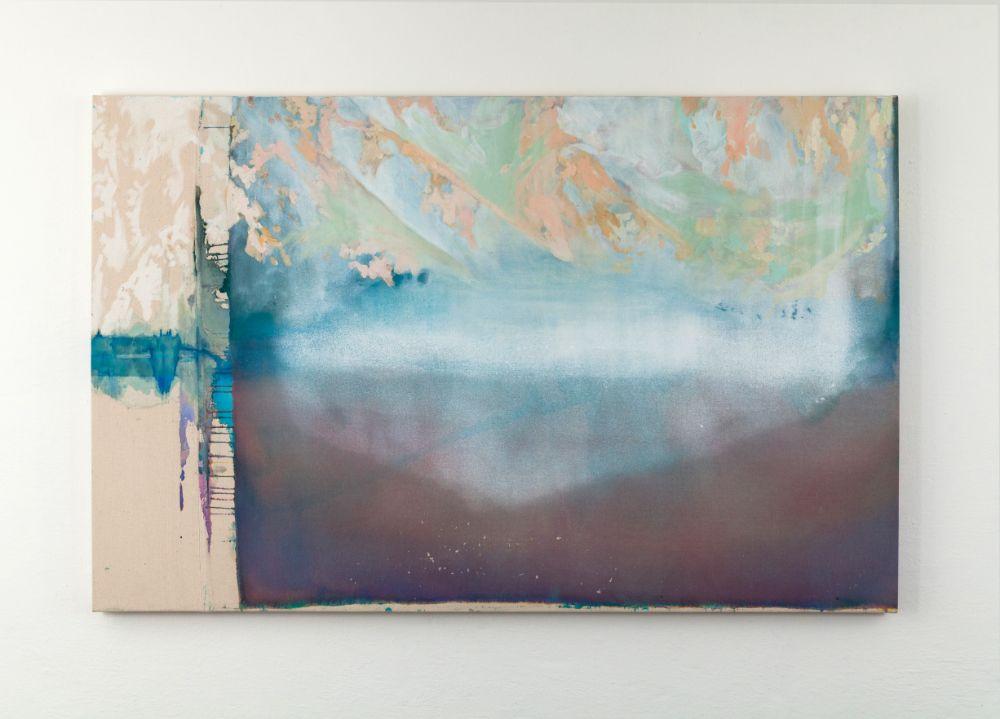 Zabudnuté miesto(Tatry), 90x140cm, acrylics on canvas, 2021